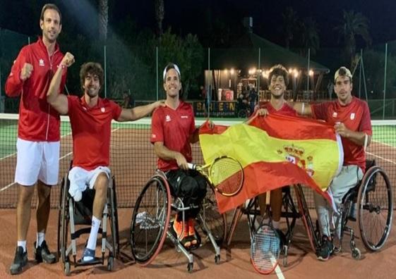 Selección Española de Tenis en Silla